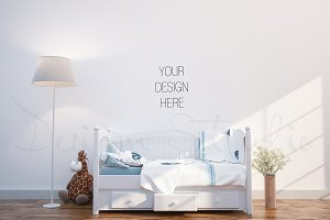 interior PSD, Nursery room photo