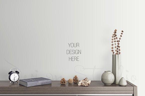 Download interior PSD, living room photo