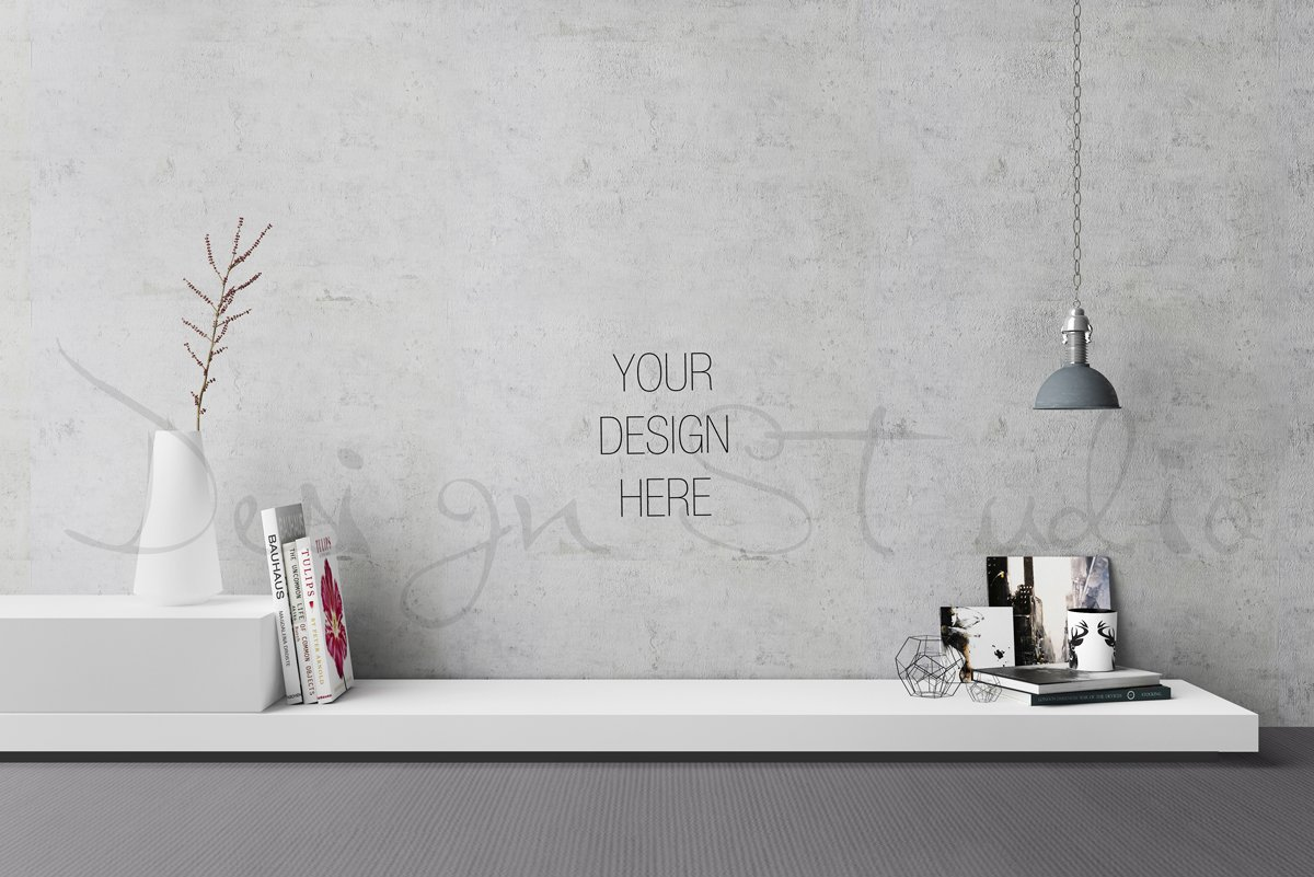 Interior psd living room photo print mockups creative - Free online bathroom design templates ...