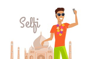 Selfie on Summer Vacation in India