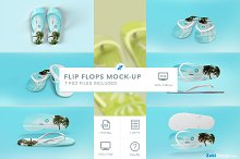 sandals mockup