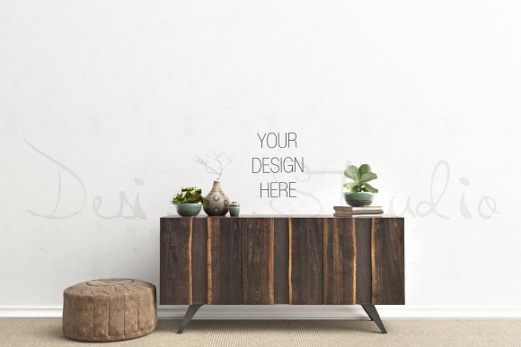 Interior Psd Living Room Photo Product Mockups Creative Market
