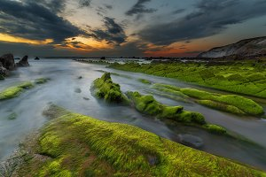 Green Barrika Beach
