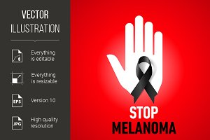 Stop Melanoma sign