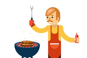 Barbecue man