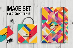 Image set ( 3 vector patterns)