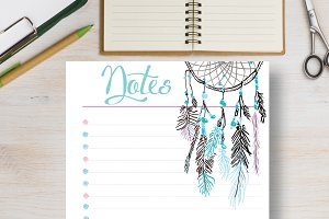 Printable Planner - Notes Page