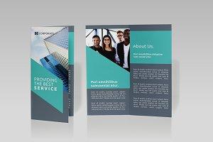 Business Tri-fold Brochure - SK