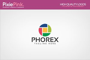 Phorex Logo Template