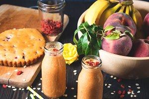 Vegan healthy breakfast