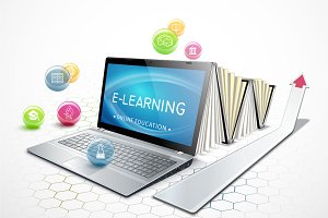 The concept of e-learning.