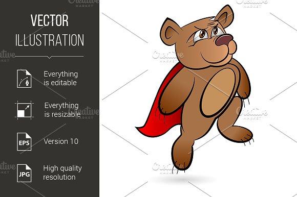 Bear Superhero