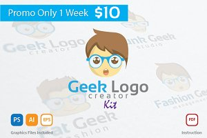 Geek Logo Creator Kit