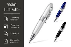 Set of pens