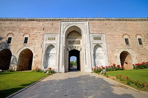 Imperial Gate in Istanbul