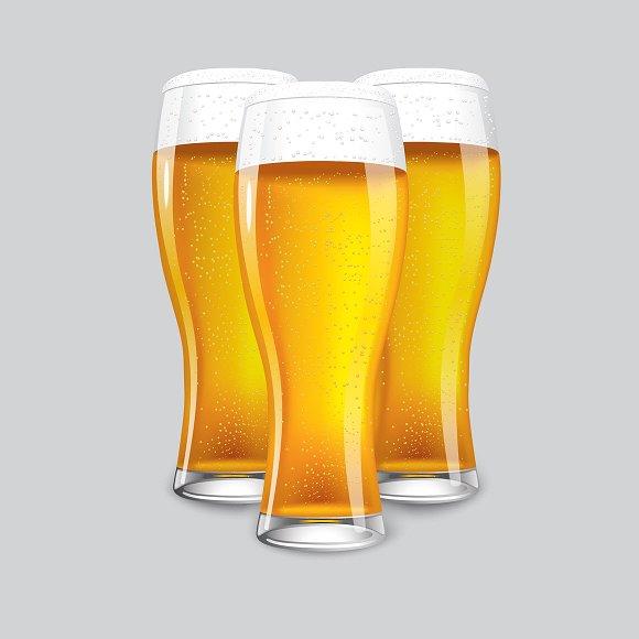 3 Beer glass