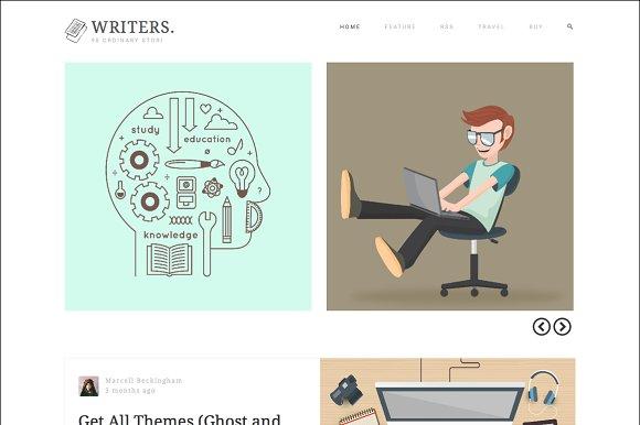 wordpress blog themes for writers
