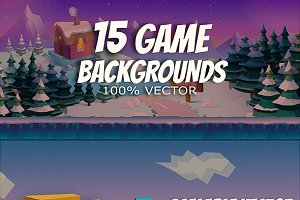 15+ Game Backgrounds Pack