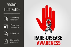 Rare-Disease Awareness sign