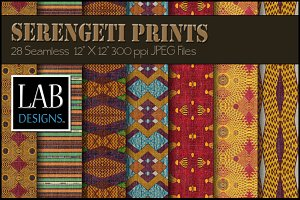 28 African Ethnic Fabric Textures