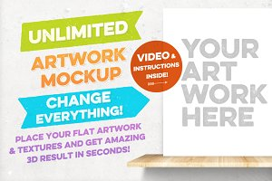 Unlimited Artwork Mockup Creator