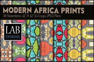 18 Modern Africa Background Textures