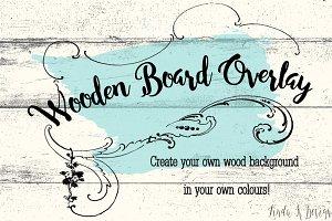 Wooden Board Overlay