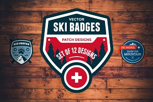 Ski Patrol Badges