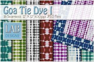 18 Goa Tie Dye Fabric Textures I