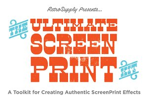The Ultimate ScreenPrinting Kit