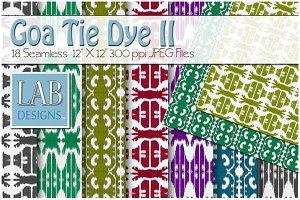 18 Goa Tie Dye Fabric Textures