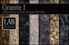 24 Seamless Granite Textures I