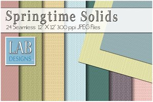24 Spring Solid Fabric Textures