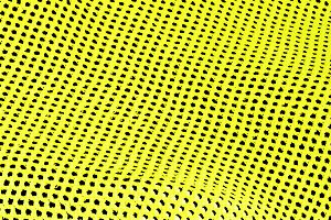 Abstract background of yellow holes