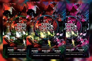 Dark Trance Flyer