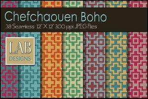 38 Boho Pattern Linen Fabric Texture