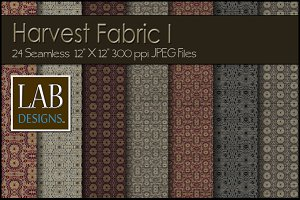 24 Seamless Fall Fabric Textures I