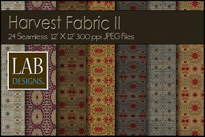24 Seamless Fall Fabric Textures