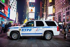 NYPD SUV police squad