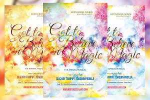 Got to Believe in Magic Church Flyer