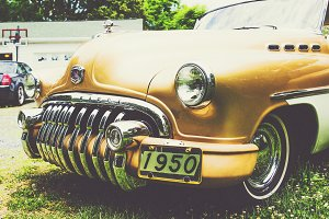 1950 Buick Roadmaster Straight Eight