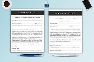 Photography Model Release Forms-V327