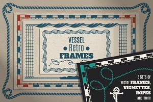 Vessel Retro Frames Sets