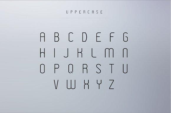 tipografía modeka para logos modernos