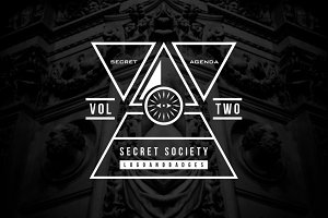 Secret Society Badges 2