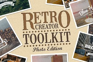 Retro Creator Tool Kit Photo Edition