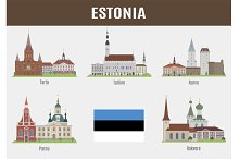 Famous Places of Estonian Cities