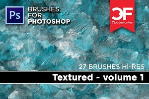 Textured Brushes Volume 1