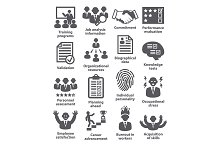 Business management icons. Pack 23.