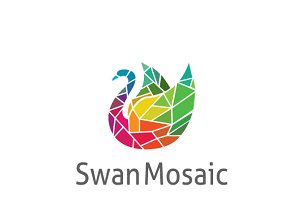 Mosaic Swan